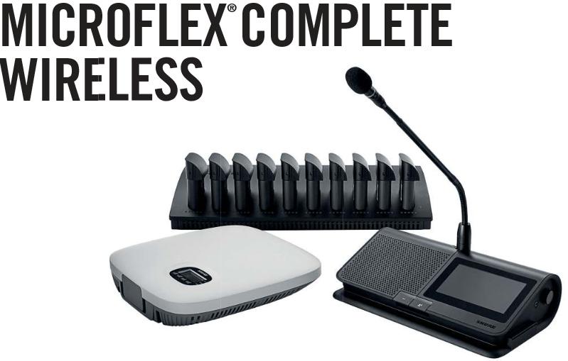 Neu im Vermietpark: Shure Microflex Complete Wireless